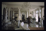 Colorado Governor's Mansion, interior view of the Palm Room looking East