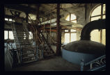 Tivoli Brewery Company, view of inside of building, staircase