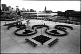 Courtyard on campus, Auraria Higher Education Center, Library and Media Center, Emmanuel...