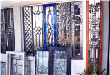 Commercial Art Glass Interior Stained Glass Display