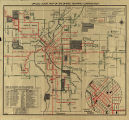 Official Route Map of the Denver Tramway Corp.