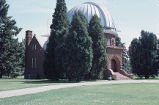 Chamberlin Observatory, front and side view