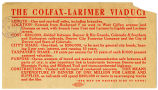 Colfax-Larimer Viaduct Information Card