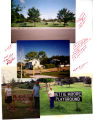 Collage of pictures of Nettie Moore playground.