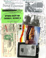 Collage of pictures of Southwest Light Rail opening, Netti Moore was a VIP guest