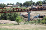 New bridge over Lakewood Gulch Park, future RTD Light Rail location