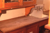 Kitchen sink in the David W. Brown House