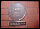 Thomas Hornsby Ferril House landmark plaque