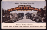 Golden Colorado Welcome Arch