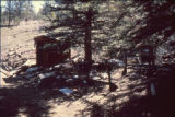 Wink's Panorama Lodge shed