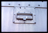 Denver and Rio Grande Western Railroad Car RGX 3327 letter box slot