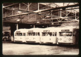 Denver Tramway Motor Coach Division building buses