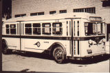 Denver Tramway Motor Coach Division building and bus