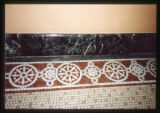 Mosque of the El Jebel Shrine floor mosaic