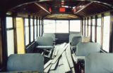 Interior of the Denver Tramway Company Streetcar #.04
