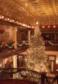 Hotel Boulderado Lobby Christmas decorations