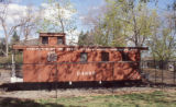 Denver and Rio Grande Western Railroad Caboose Number 04990