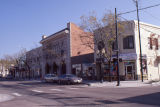 South east view of the 2400 block in the Littleton Main Street Historic District in Littleton