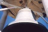 Daniels and Fisher's bell before renovation