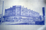 Amos H. Root Building sketch