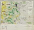 State of Colorado Wilderness Status Map