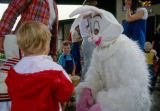The Easter Bunny and Children at Mission Viejo