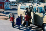 Children Boarding Van at Mission Viejo