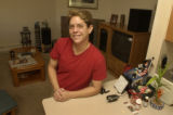 (WHEATRIDGE, Colo., June 3, 2004)  Joni Abel, 3747 Quail St. has her own home.  This is Quail...