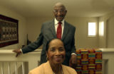 (AURORA, CO., June 22, 2004) John and Edna Moseley, 13827 East Chenango Drive, portraitized in...