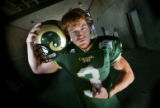 Colorado State University safety Ben Stratton during the 2006 Colorado State Football Media Day...