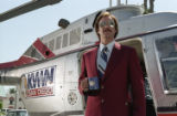 Will Ferrell inhabits the character of Ron Burgundy, a 1970s anchorman with coiffed hair,...