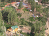 A photograph from the air of structures (homes) at the Fundalmentalist Church of Jesus Christ...