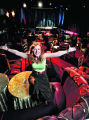 Singer and performer Lannie Garrett in her new nightclub on Monday January 23, 2006, at the...
