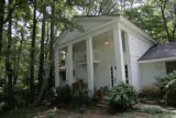 This is the rural home in Atlanta, Ga.,on August 17, 2006 where Wex Karr father of John Mark Karr...