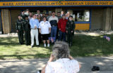 Cyndi Leinberger(cq), of Collbran, takes a picture of Sherri Lawton(cq), front row in white, with...