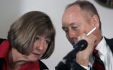 Boulder District Attorney Mary Lacy and Boulder First Assistant  District Attorney Peter Maguire...