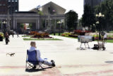 Civic Center Park, Colfax and Broadway, Denver, Colo., Tuesday, August 29, 2006. The park today is...