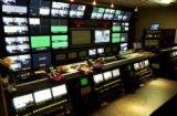 (VAIL., Colo., Jan 10, 2006) A MTV mobile video control room will be used to video a concert...