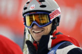 Jeremy Bloom was all smiles after his performance on his second run earned him a spot on the U.S....