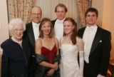 (Denver, Colo., December 23, 2005) Marion, Barney, Linda, Alex, and Darcy White with escort...
