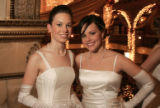 (Denver, Colo., December 23, 2005) Left to right:  cousins Katrina and Christina Brinkerhoff.  The...