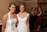 (Denver, Colo., December 23, 2005) Amy Craig and Allison Zarlengo.  The 2005 debutante ball at the...