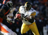1127 Steelers #36 Jerome Bettis runs for 12 yards for a touchdown but the score was called back...