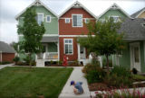 Denver, Colo., photo taken June 27, 2004- David Teter (bottom),6, spends a Sunday afternoon...