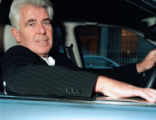 (NYT7) LONDON -- Jan. 27, 2006 -- GOSSIP-KING-1 -- Max Clifford in his new Bentley in London in...