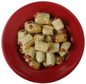 Super bowls filled with snacks for Superbowl Sunday.  Food shoot.   Pigs in a Blanket.  Bowl from...