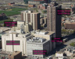Denver Gas and Electric Building in context with the other telecommunications buildings located on...