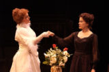 (L to R) Beverly Leech as Sarah Bernhardt and Monique Fowler as Eleonora Duse in the Denver Center...