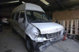 Ford Econoline van which was used for human trafficking, in which 25 undocumented immigrants were...