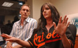 FLJF104 - ** FILE ** Former New York Mets' Kris Benson, left, and wife Anna Benson answer...